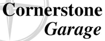 Cornerstone Garage logo