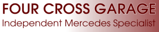 Four Cross Garage logo
