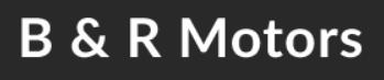 B and R Motors logo