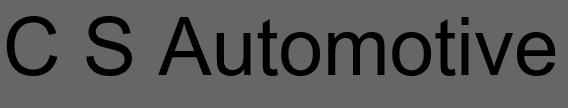 C S Automotive logo